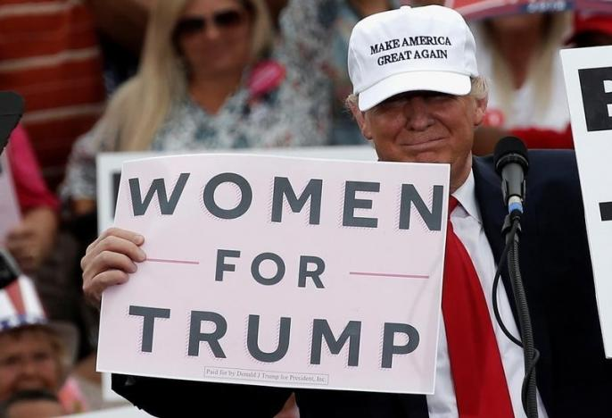 Women for Trump (Florida ottobre 2016). Foto Reuters.